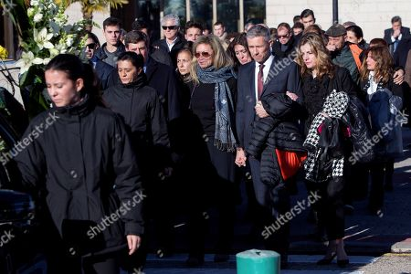 Editorial picture of Spanish missing woman Diana Quer's funeral in Madrid, Spain - 11 Jan 2018