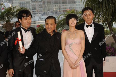 Wu Wei, Lou Ye, Tan Zhuo e Qin Hao