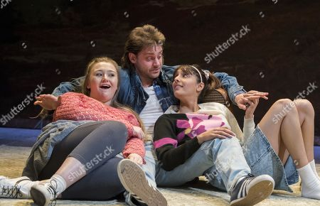 Editorial photo of 'Rita, Sue and Bob Too' Play by Andrea Dunbar performed at the Royal Court Theatre,