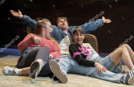 Stock Photo of Gemma Dobson as Sue,  James Atherton as Bob, Taj Atwal as Rita