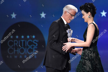 Ted Danson and Jaimie Alexander
