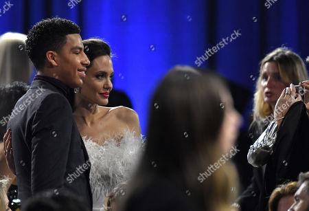 Angelina Jolie and Marcus Scribner