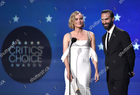 Diane Kruger and Joseph Fiennes