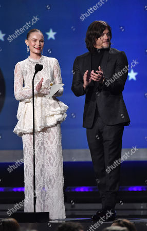 Kate Bosworth and Norman Reedus