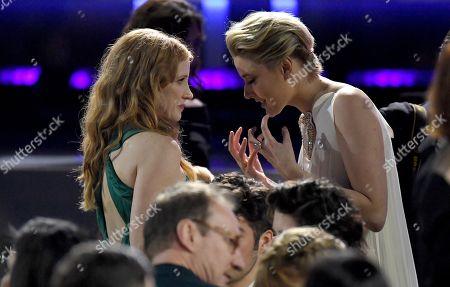 Jessica Chastain and Greta Gerwig
