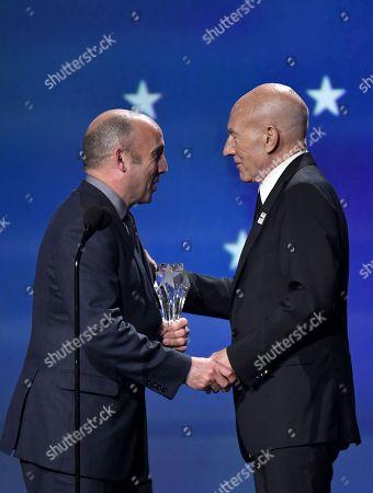 J. Miles Dale and Sir Patrick Stewart