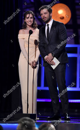 Alison Brie and Sebastian Stan