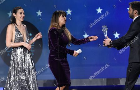Gal Gadot, Patty Jenkins and Sebastian Stan