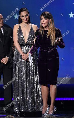 Gal Gadot and Patty Jenkins