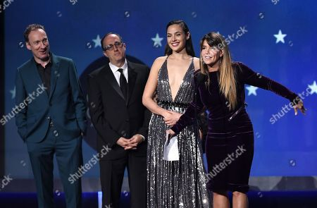 David Thewlis, Richard Suckle, Gal Gadot and Patty Jenkins