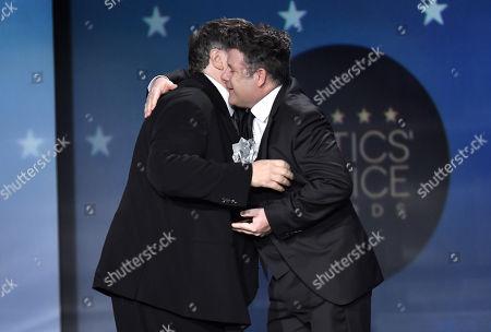 Guillermo Del Toro and Sean Astin