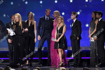 Bruna Papandrea, Laura Dern, Alexander Skarsgard, Nicole Kidman, Reese Witherspoon, Per Saari and Kumail Nanjiani