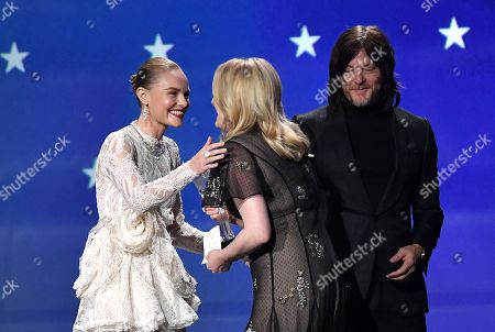 Kate Bosworth, Elisabeth Moss and Norman Reedus