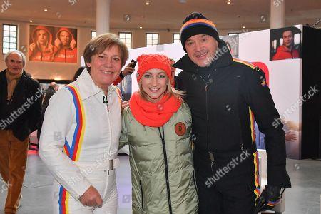 Christian Neureuther, Rosi Mittermeier, Aljona Savchenko,