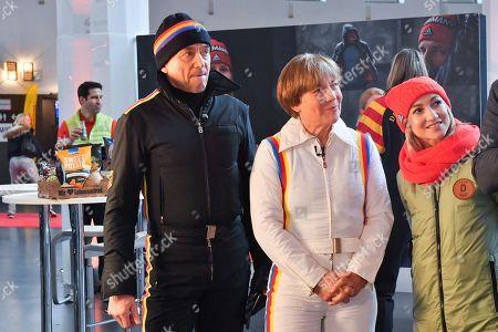 Stock Photo of Christian Neureuther, Rosi Mittermeier, Aljona Savchenko,
