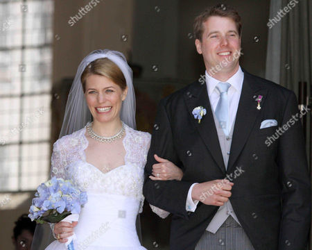 Prince Hubertus of Saxe-Coburg and Gotha and Kelly Rondestvedt