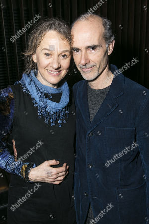 Stock Photo of Niamh Cusack and Finbar Lynch (Reverend Marlowe)