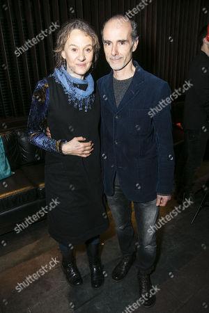 Niamh Cusack and Finbar Lynch (Reverend Marlowe)