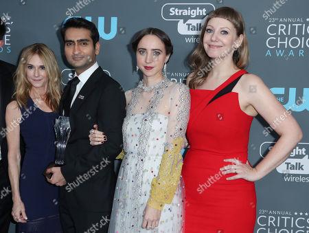Holly Hunter, Kumail Nanjiani, Zoe Kazan and Emily V Gordon