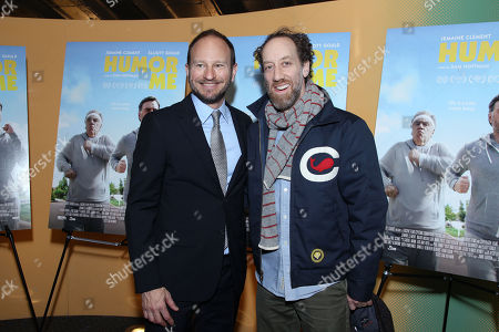 Stock Picture of Sam Hoffman (Director), Joey Slotnick