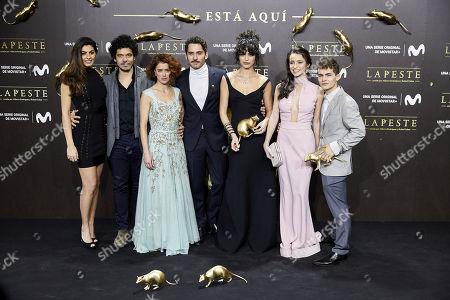 Nya de la Rubia, Pablo Molinero, Patricia Lopez Arnaiz, Paco Leon, Cecilia Gomez, Lupe del Junco, Sergio Castellanos