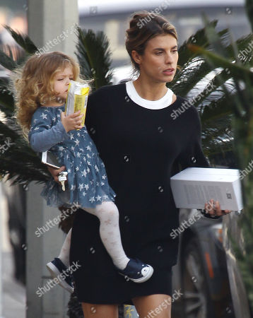 Stock Photo of Elisabetta Canalis, Skyler Eva Perri