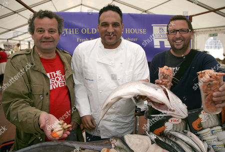 Mark Hix, Michael Caines and Mitch Tonks