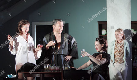 Editorial picture of 'Aunt Dan and Lemon' play by Royal Court Theatre, London, Britain - 26 May 2009