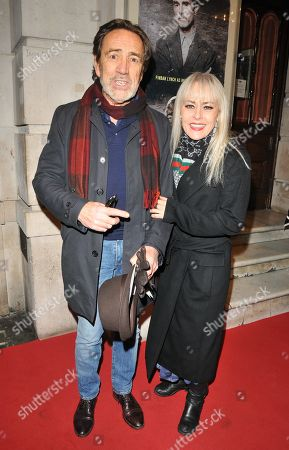 Robert Lindsay and Tracey Bennett