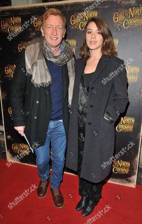 Steffan Rhodri and guest