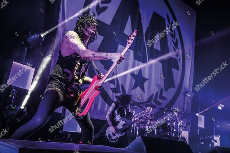 Editorial photo of Asking Alexandria Live At O2 Academy Brixton, London