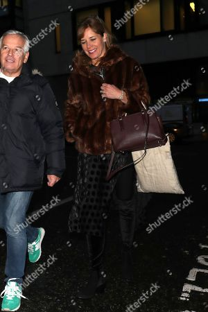 Editorial image of Darcy Bussell out and about, London, UK - 12 Jan 2018