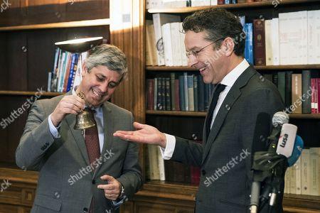 Mario Centeno and Jeroen Dijsselbloem