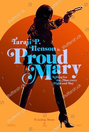 Proud Mary (2018) Poster Art. Taraji P. Henson