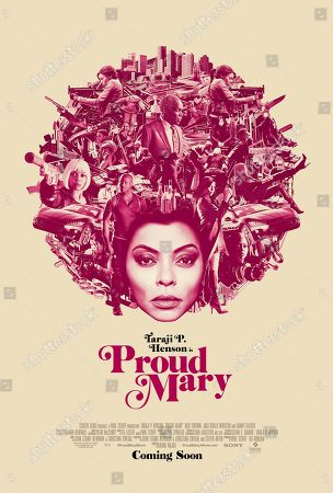 Proud Mary (2018) Poster Art. Taraji P. Henson