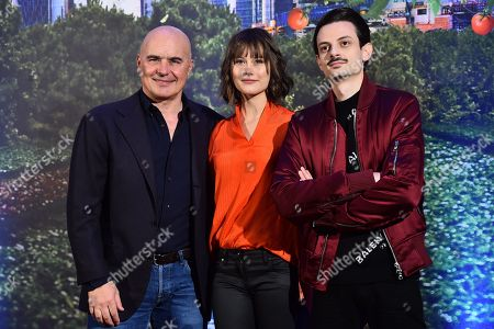 Luca Zingaretti Paola Calliari and Fabio Rovazzi