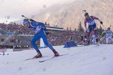 Editorial image of Biathlon IBU World Cup, Ruhpolding, Germany - 12 Jan 2018