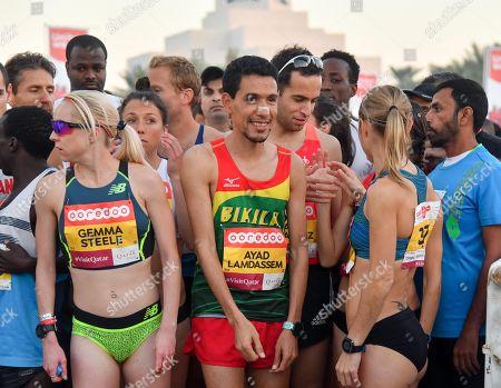 Editorial photo of 2018 Doha Marathon, Qatar - 11 Jan 2018