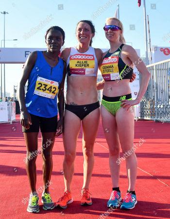 Editorial image of 2018 Doha Marathon, Qatar - 11 Jan 2018