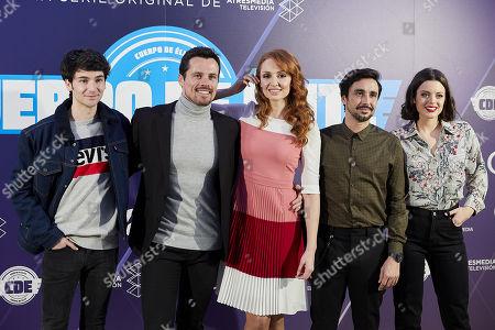 Alvaro Fontalba, Octavi Pujades, Cristina Castano, Canco Rodriguez, Adriana Torrebejano