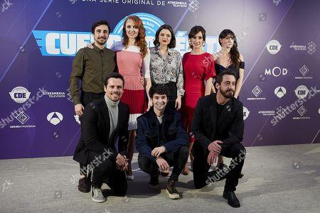 Canco Rodriguez, Cristina Castano, Adriana Torrebejano, Ana Morgade, Maria Botto, Octavi Pujades, Alvaro Fontalba, Ismael Martinez