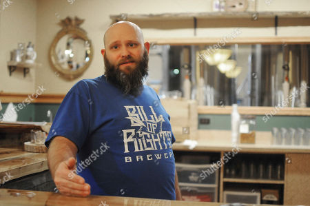 Brian Trimble, owner of Bill of Rights Brewery, discusses proposed South Dakota alcohol law changes in Pierre, S.D. Craft brewers would be able to produce thousands more barrels of beer each year and sell directly to bars under an overhaul Gov. Dennis Daugaard is pursuing this legislative session