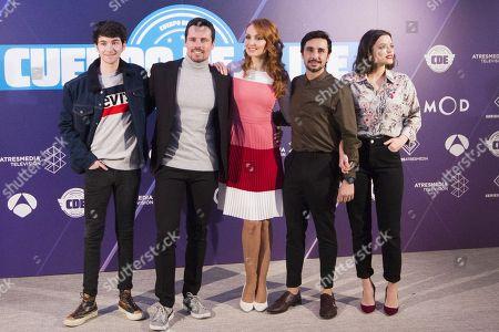Alvaro Fontalba, Octavi Pujades, Cristina Castano, Canco Rodriguez and Adriana Torrebejano