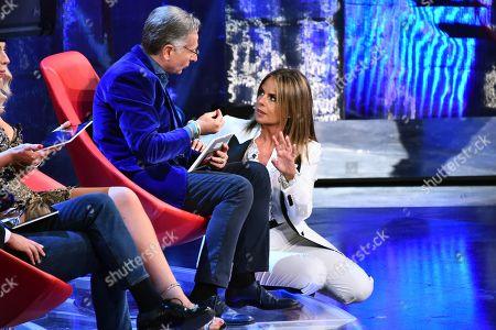 Paola Perego and Paolo Bonolis
