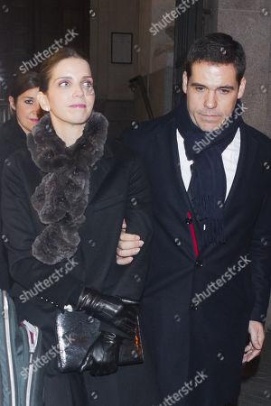 Luis Alfonso de Borbón and Maria Margarita Vargas Santaella