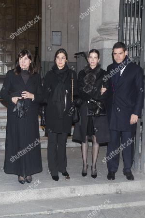 Editorial photo of Carmen Franco Funeral, Madrid, Spain - 11 Jan 2018