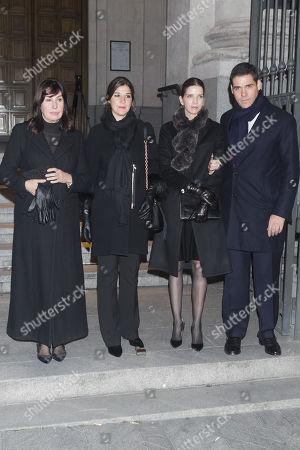Editorial picture of Carmen Franco Funeral, Madrid, Spain - 11 Jan 2018