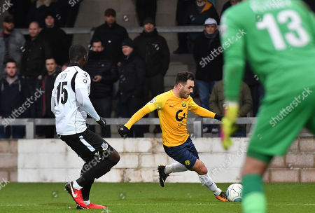 Editorial picture of Torquay United v  Eastleigh, Torquay, UK - 13 Jan 2018
