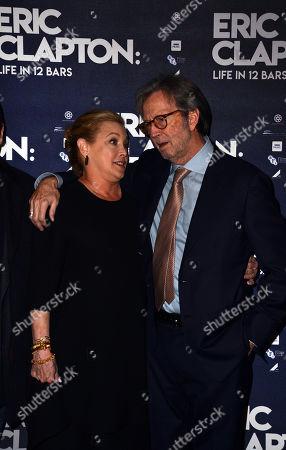Eric Clapton and director Lili Fini Zanuck