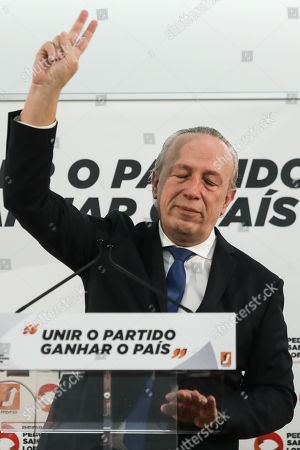 Social Democratic Party (PSD) candidate, Pedro Santana Lopes, reacts after losing the direct elections for the leadership of the party, in Lisbon, Portugal, 13 January 2018. More than 70,000 PSD militants voted to choose the next social-democratic president and successor of Pedro Passos Coelho in the direct elections between Pedro Santana Lopes and Rui Rio.